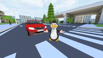 VR přecházení aplikace
