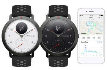 Nové Withings Steel HR Sport jsou perfektní kombinace chytrých a analogových hodinek