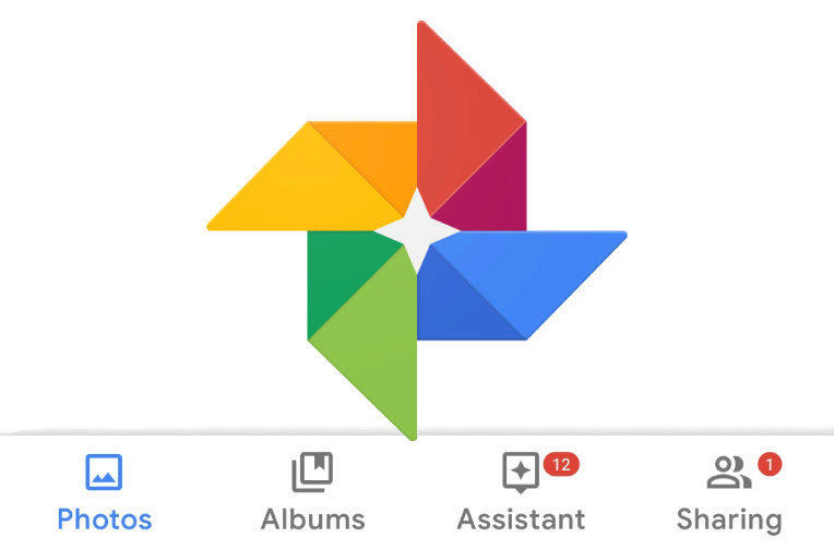 aplikace google fotky material design 2