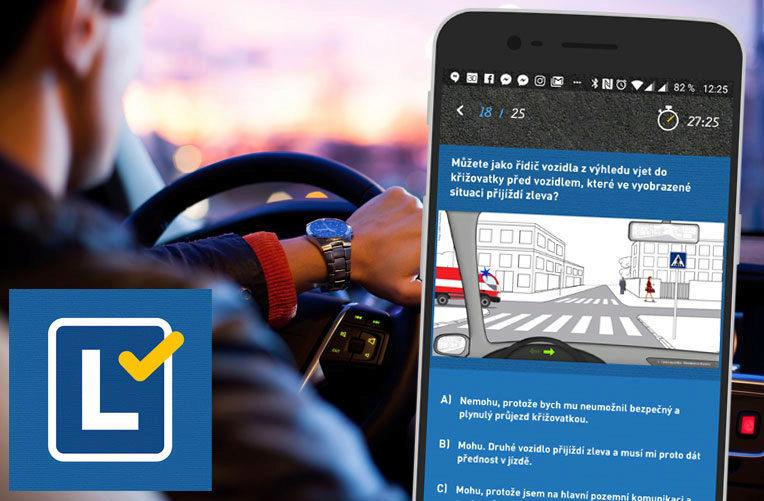 autoskola aplikace android