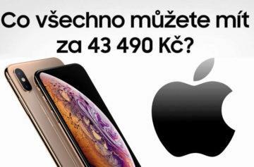 Co vše si normální lidi dokážou koupit za cenu jednoho nového iPhonu?