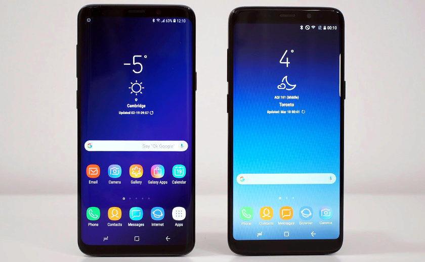 fake telefony samsung galaxy s9