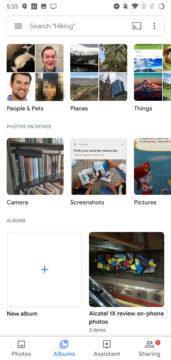 fotky google novy design