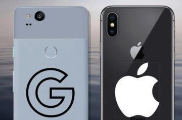 Srovnání fotoaparátů Pixel 2 vs. iPhone X: Je lepší Google nebo Apple?