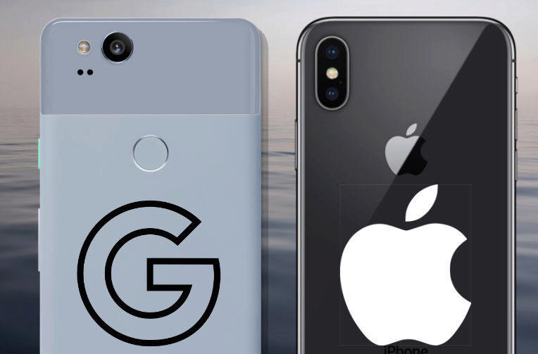 fototest apple iphone x vs google pixel 2