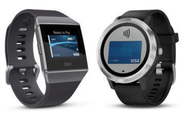 Fitbit Pay a Garmin Pay oficiálně v Česku: Bezkontaktní platby hodinkami a náramky