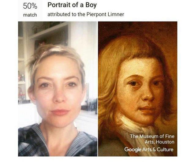 google art selfie katie hudson