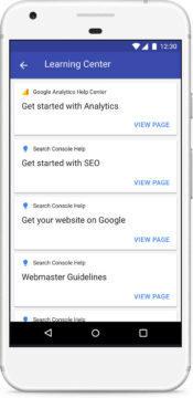 google blog compass aplikace