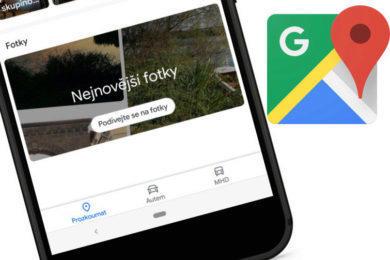 google mapy fotky vlastni sekci