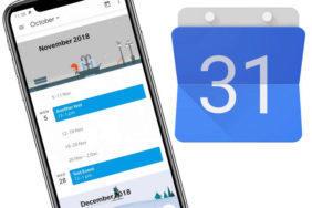 kalendar s novym designem google material design