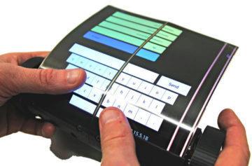 Budoucnost tabletů na videu: Displej MagicScroll se roluje jako papír