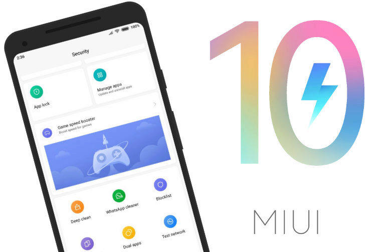 miui 10 optimalizace aktualizace