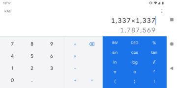 novy design google kalkulacka