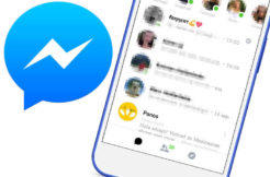 novy redesign facebook messenger