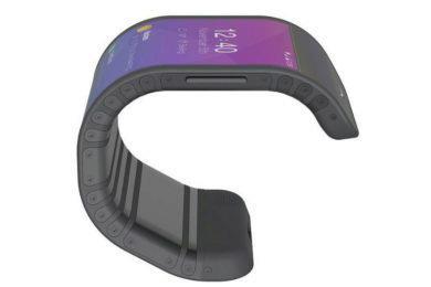 ohebny telefon lenovo prototyp