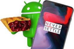oneplus 6 aktualizace android 9 pie