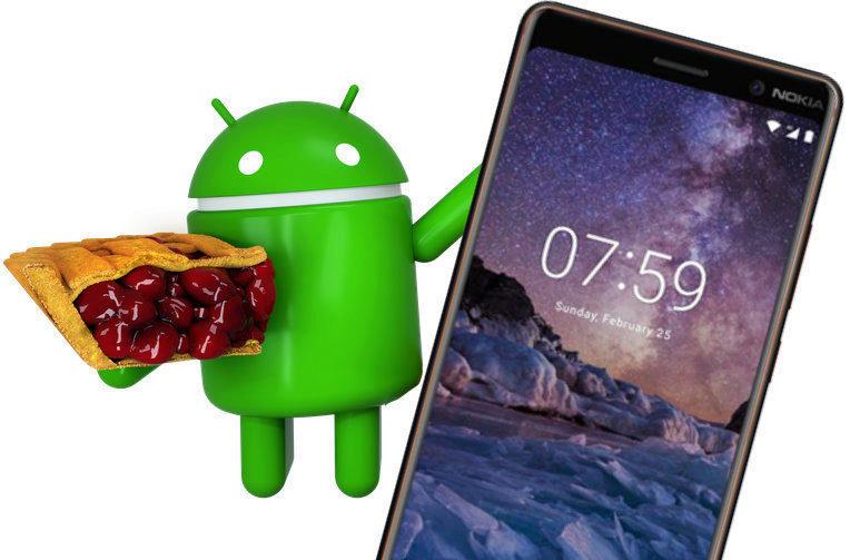 prvni nokia telefon aktualizace android 9 pie