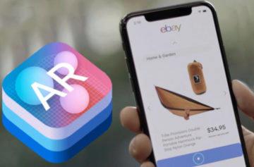 Přelomové využití rozšířené reality? eBay spustil ovládání telefonu bez dotyku