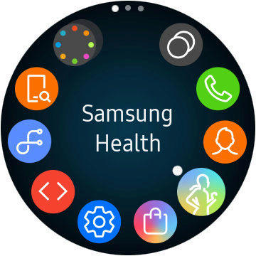 samsung galaxy watch menu