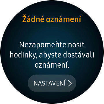 samsung galaxy watch oznameni