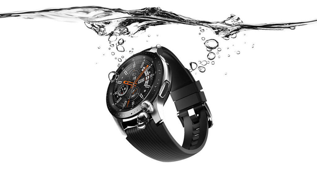 samsung galaxy watch vodeodolnost