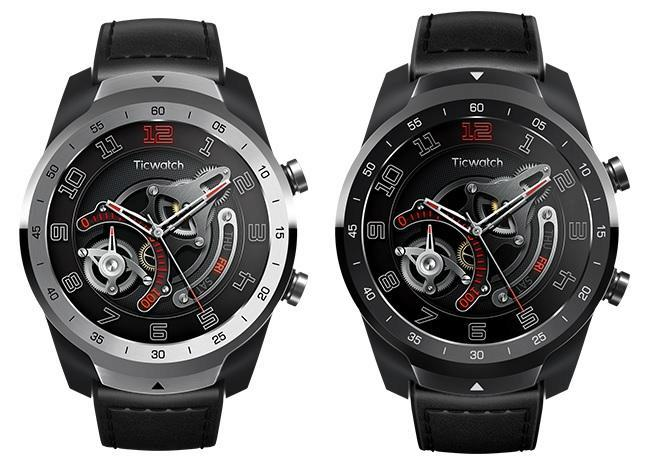 smartwatch ticwatch pro design a zpracovani