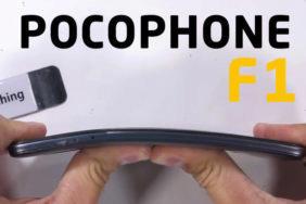 test odolnosti plastovy xiaomi pocophone f1