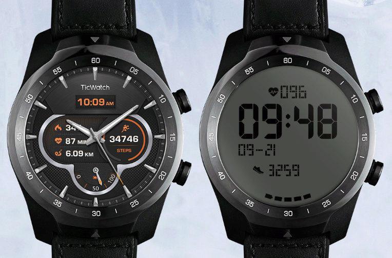 Ticwatch Pro uživatelská recenze  Dva displeje u hodinek mají smysl 69097b8d3d