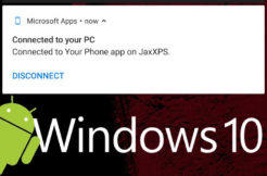 system windows 10 integrace android