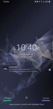 zamknuta obrazovka samsung experience 10