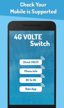 Aplikace 4G VoLTE Tester