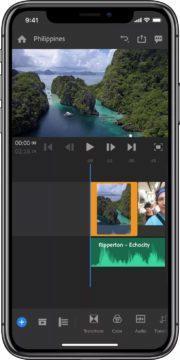 Adobe Premiere Rush CC snadná úprava videí na mobilu