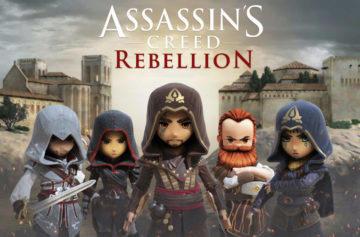 Na Android vychází nový Assassin's Creed s netradičním ovládáním i grafikou