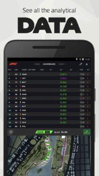 F1 Live Timing aplikace