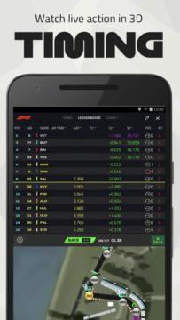 F1 Live Timing android