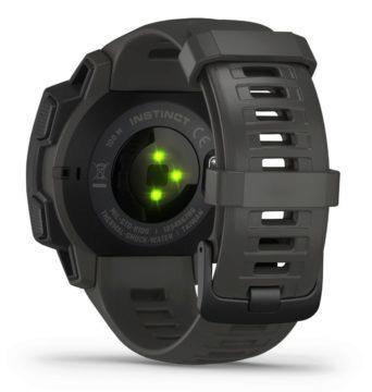 Garmin Instinct černé - senzor k měření tepu