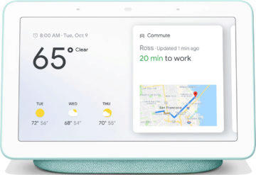 Google Home Hub chytry displej