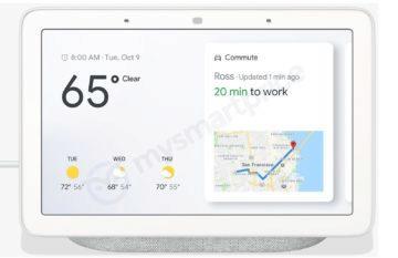 Google Home Hub přední strana