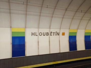 Honor 8X fotografie metro hloubetin