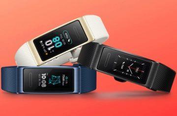 Huawei Band 3 Pro je konkurencí pro Xiaomi MiBand 3 s dvacetidenní výdrží a GPS