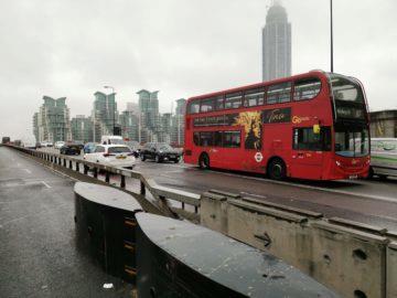 Huawei Mate 20 Pro fotografie londyn bus