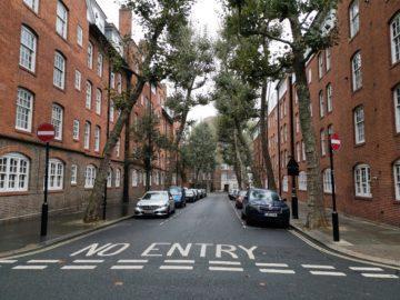 Huawei Mate 20 Pro fotografie ulice londyn
