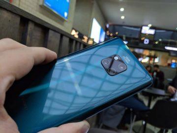 Huawei Mate 20 pro fotoaparat