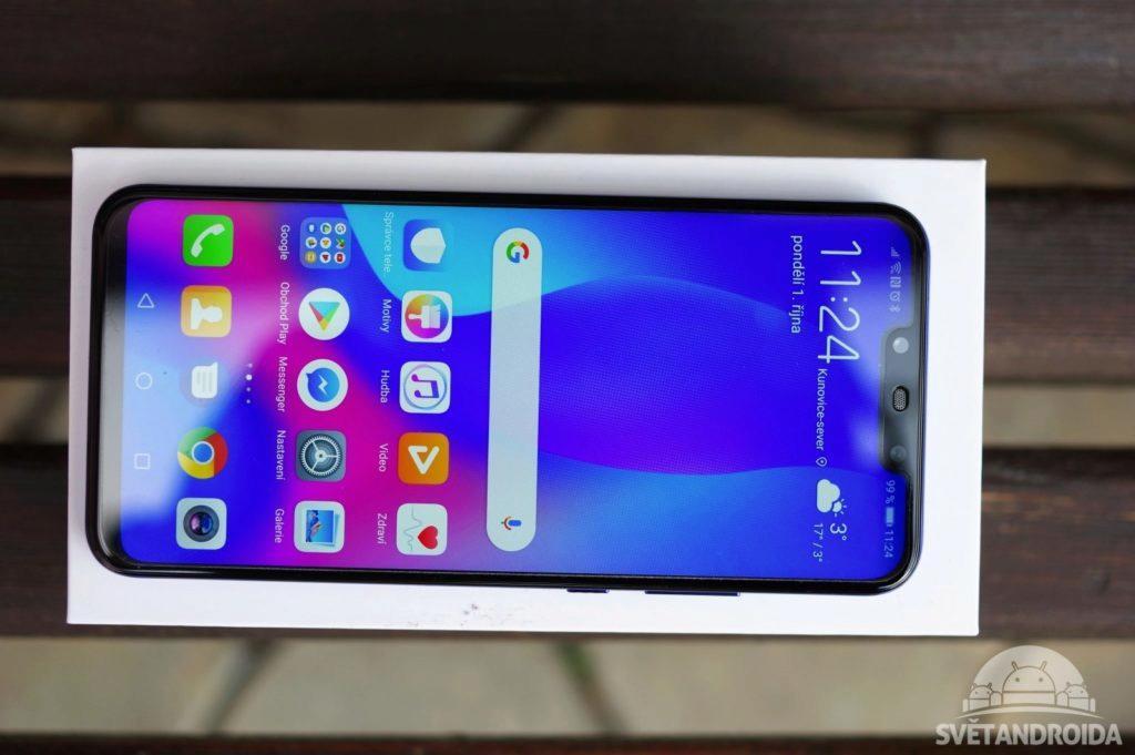Huawei Nova 3 displej