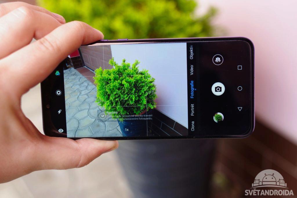Huawei Nova 3 focení