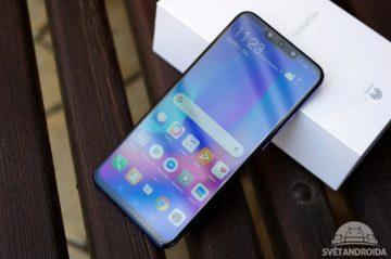 Huawei Nova 3 přední strana