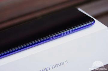 Huawei Nova 3 tlačítka