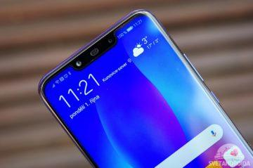Huawei Nova 3 výřez