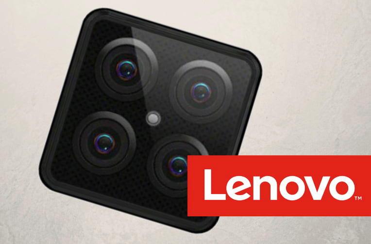Čtyři zadní fotoaparáty LENOVO S5 Pro