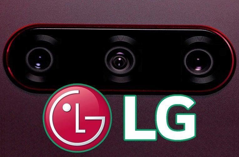 LG V40 ThinQ zadní trojitý fotoaparát